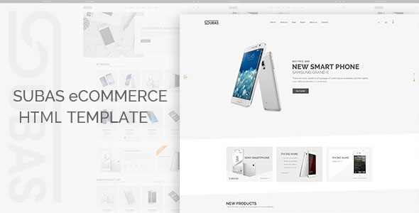 Subas – Electronics eCommerce Bootstrap Template - Electronics Technology