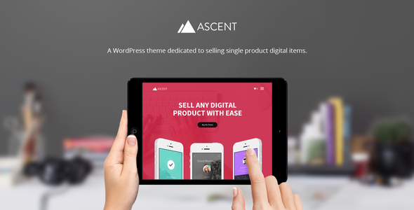 Ascent - WordPress / Easy Digital Downloads Theme