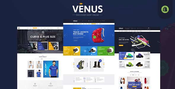 Stylish Shopify Fashion Theme – Venus