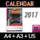 Calendar 2017 - GraphicRiver Item for Sale