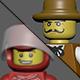 Lego man minifigure