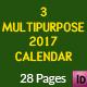 Calendar 2017 Bundle - GraphicRiver Item for Sale