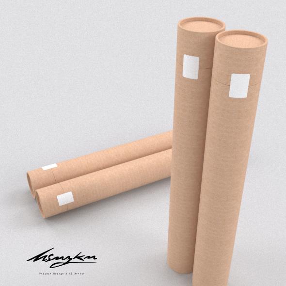 Roller Box Model - 3DOcean Item for Sale