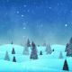 Christmas Snow Fall Loop Background - VideoHive Item for Sale