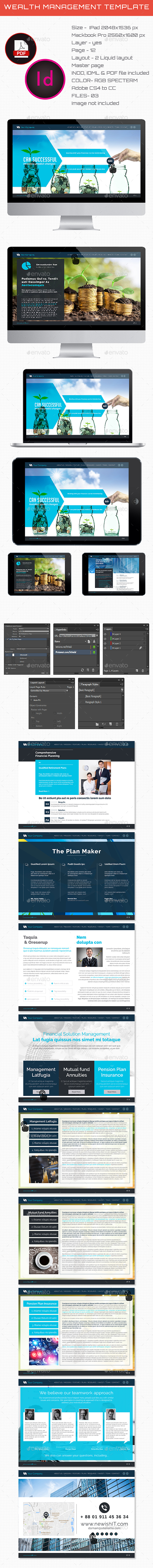 Interactive Wealth Management Template - ePublishing