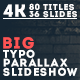 Big Typo Parallax Presentation - VideoHive Item for Sale