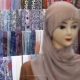 Shawl Coffee Color On The Mannequin - VideoHive Item for Sale