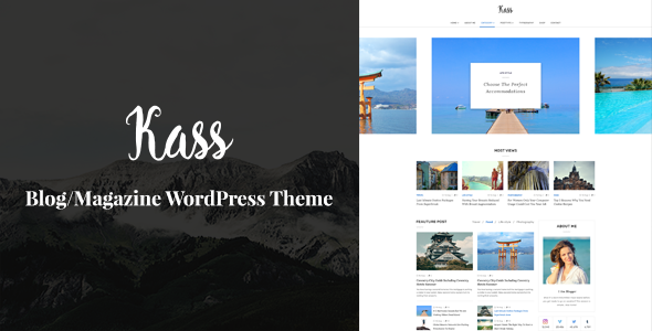 Mountainz – Responsive Blog/Magazine WordPress Theme