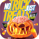 No Trick Just Treat Flyer Template - GraphicRiver Item for Sale