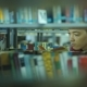 Student Boy Chooses a Book in the Library - VideoHive Item for Sale