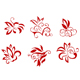 Floral and flower decorations - GraphicRiver Item for Sale