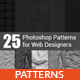 25 Photoshop Patterns - GraphicRiver Item for Sale