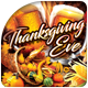 Thanksgiving Eve Flyer - GraphicRiver Item for Sale