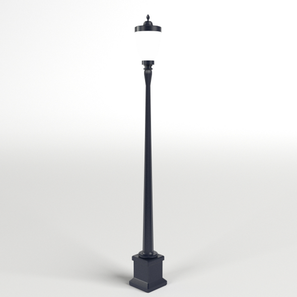 Vintage Street Lamp - 3DOcean Item for Sale