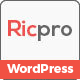 Ricpro - Multipurpose WordPress Theme - ThemeForest Item for Sale