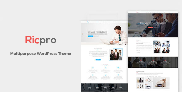 Ricpro - Multipurpose WordPress Theme - Business Corporate