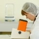 Inspector Takes a Sample In a Laboratory - Looking For Quality Millet - VideoHive Item for Sale