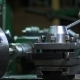 Operator Working At Old Lathe Machine - VideoHive Item for Sale