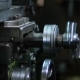 Micrometer Wheel On The Lathe Machine - VideoHive Item for Sale