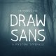 Drawsans Typeface Nulled