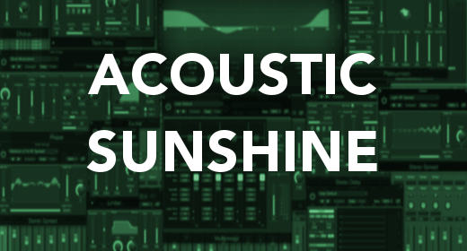 Acoustic Sunshine