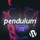 Pendulum - Responsive Music Wordpress Theme for Bands and Djs