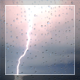 Lightning And Rain Outside Window - VideoHive Item for Sale