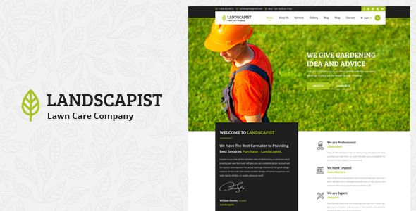 Landscapist – Lawn & Landscaping HTML Template