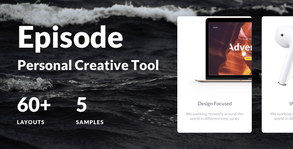 Episode — Creative Design Kit Powered by Responsive HTML5