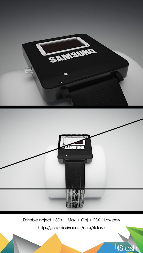 Samsung Gear - 3DOcean Item for Sale