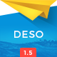 Deso - Responsive Email Newsletter Template Nulled