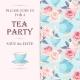 Tea Party Invitation - GraphicRiver Item for Sale