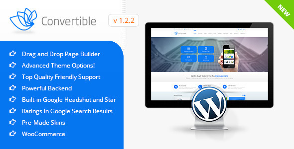 Convertible | Business WordPress Theme