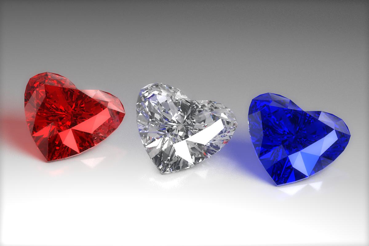 Heart Diamond By Formd 3docean