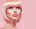 Beautiful glamour girl with short blonde hair - PhotoDune Item for Sale