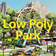 Low Poly Amusement Park - 3DOcean Item for Sale
