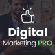 The Digital Marketing Pro - Keynote Template - GraphicRiver Item for Sale