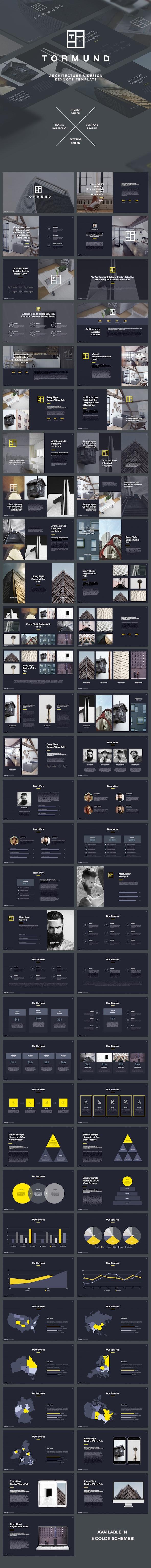 Thormund - Design & Portfolio Keynote Template - Keynote Templates Presentation Templates