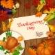 Thanksgiving Turkey Dinner Invitation Card - GraphicRiver Item for Sale