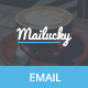Mailucky, Modern Email Template + Builder Access - ThemeForest Item for Sale