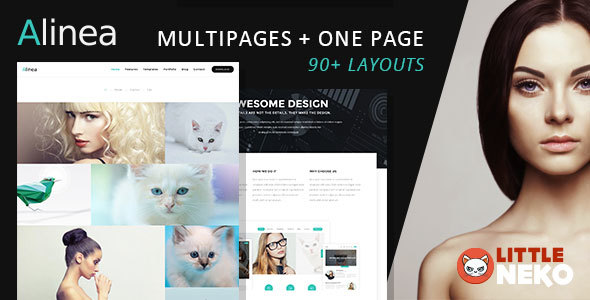 Alinea | Business website template