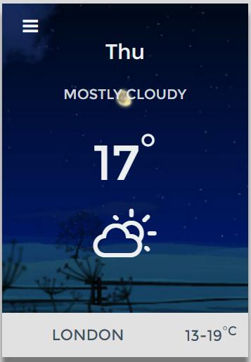 Weather Plugin-Widgets Weather