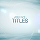 Arrive Titles: Lights and Lines - VideoHive Item for Sale