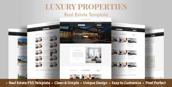 Real estate flash cms template #41393.