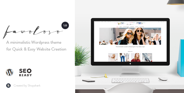 Favoloso | Responsive WordPress Multi-Purpose Theme