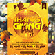 Thanksgiving Party Flyer Vol 01 - GraphicRiver Item for Sale