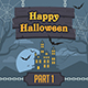 Illustration Halloween Backgrounds and Pumpkin