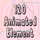 120 Animated Element - VideoHive Item for Sale