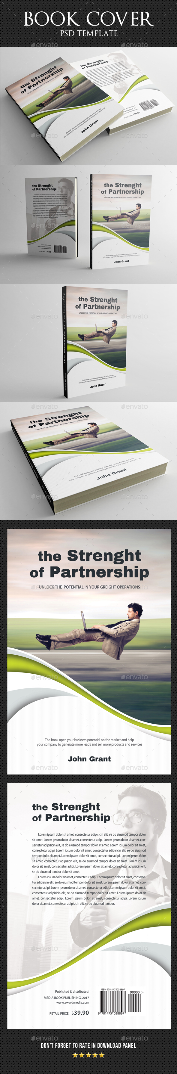 Book Cover Template 23 By Rapidgraf Graphicriver