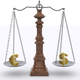 Scale - Balance Of Euro And Dollar - VideoHive Item for Sale